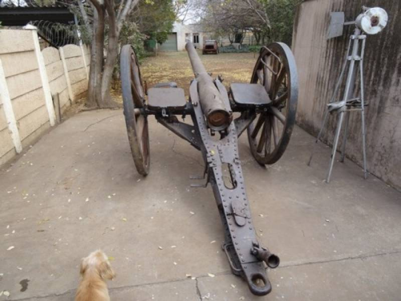 Victorian English 15 pounder field gun | SAHRA